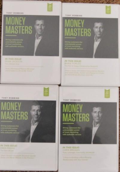 money masters anthony robbins