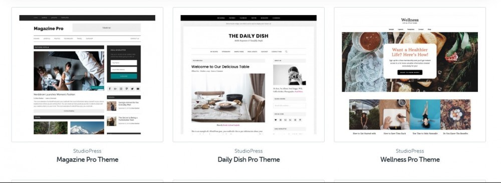 studiopress ecommerce themes
