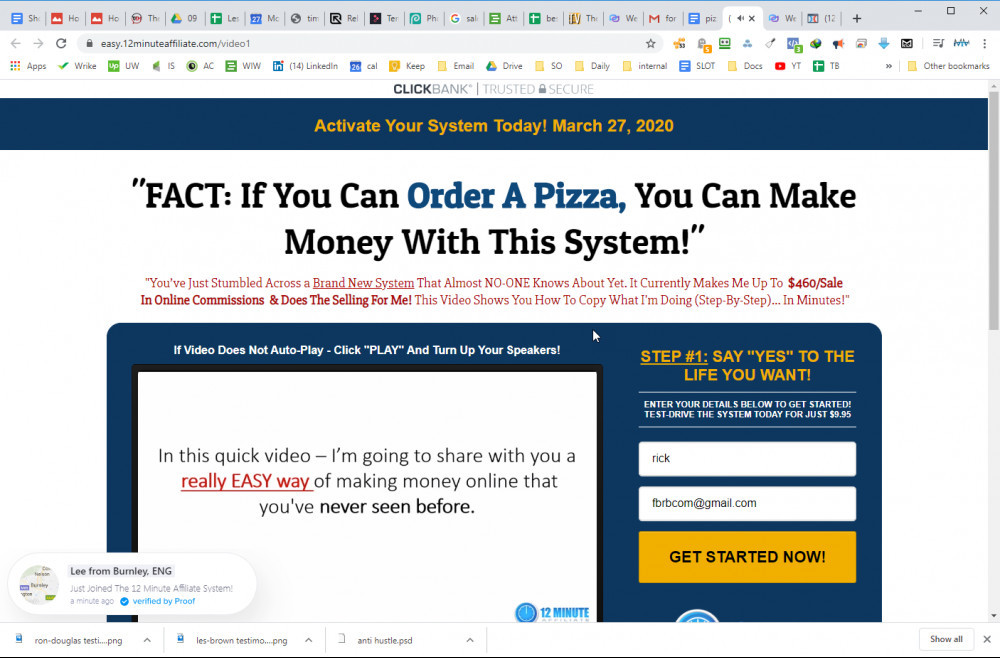 Can You Make Money With 12 Minute Affiliate System