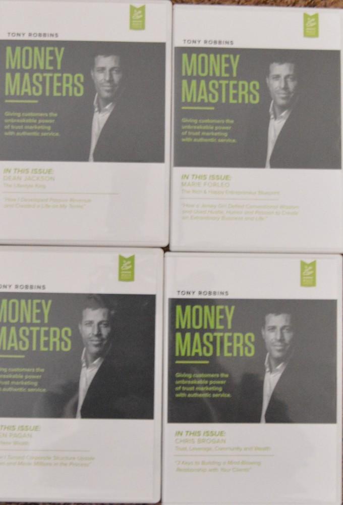 anthony robbins money masters