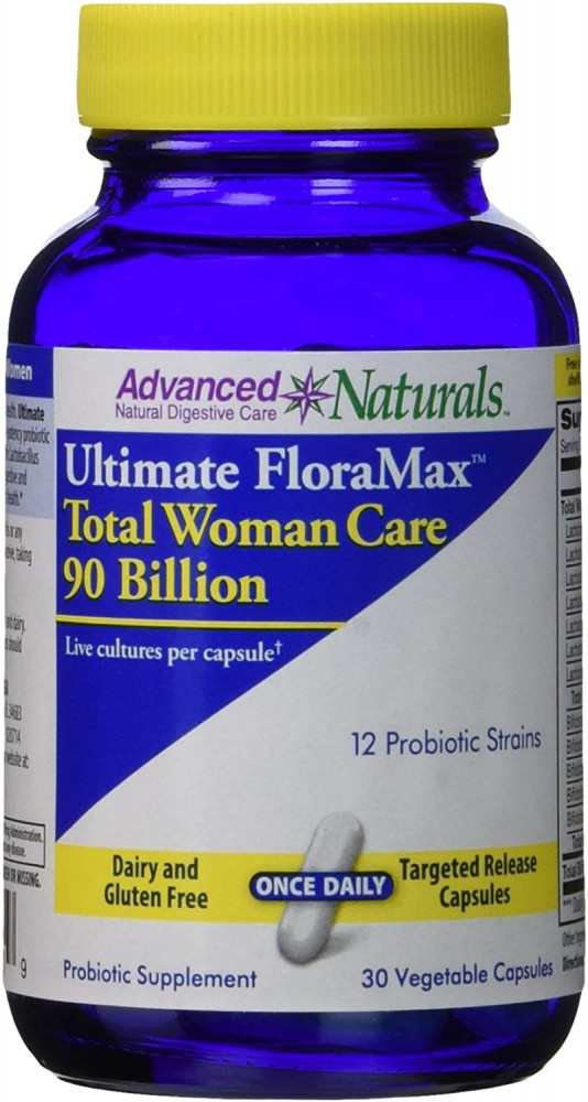 Advanced Naturals Ultimate Floramax Total Woman Care