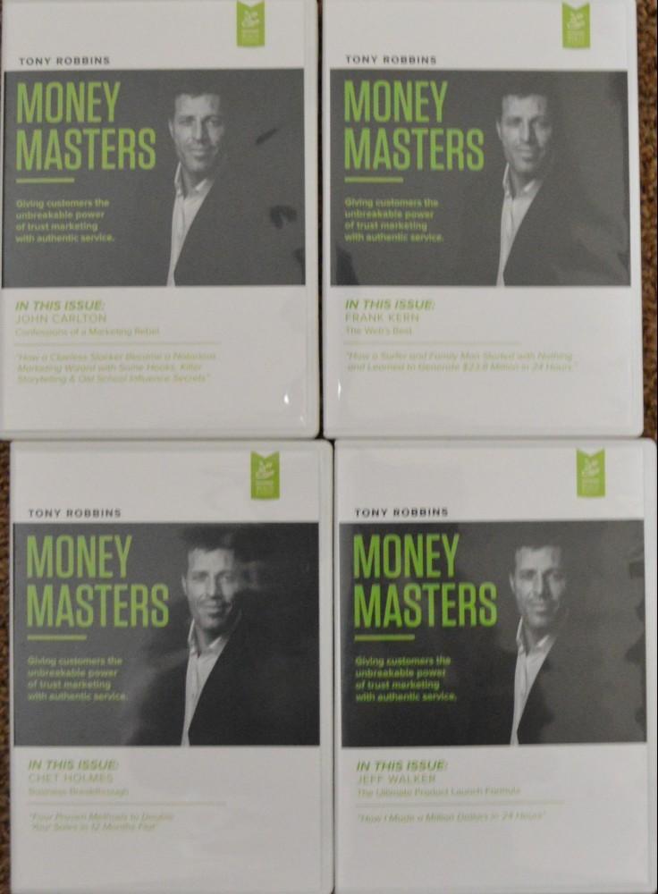 tony robbins money masters