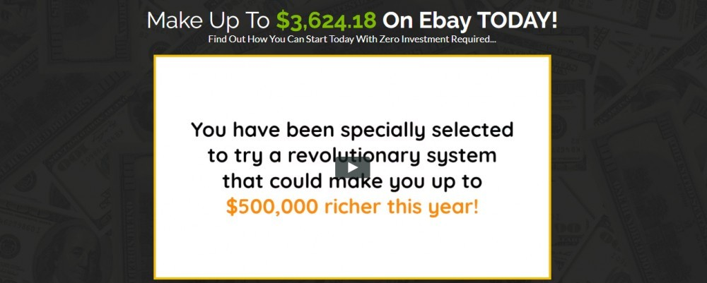make $3,624.18 on ebay