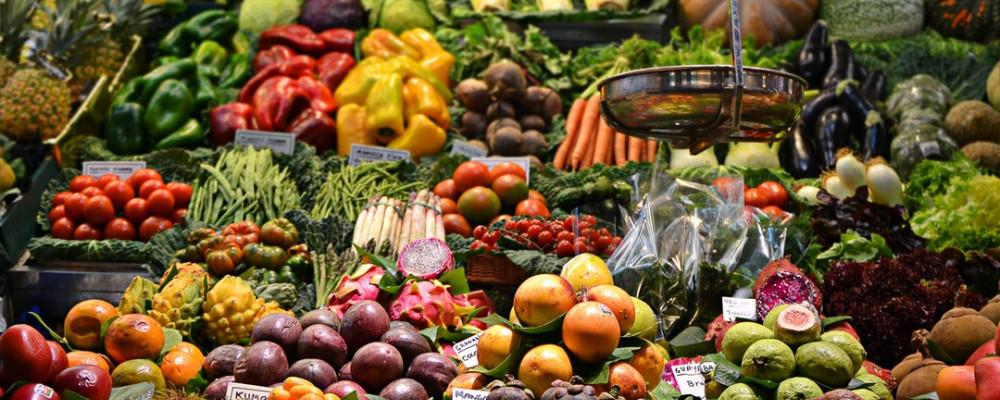Eat More High Fiber Vegetables and Fruits