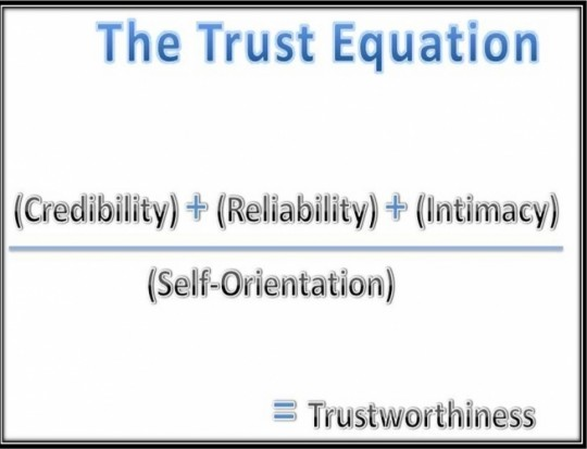 4 Key Elements to Building Trust