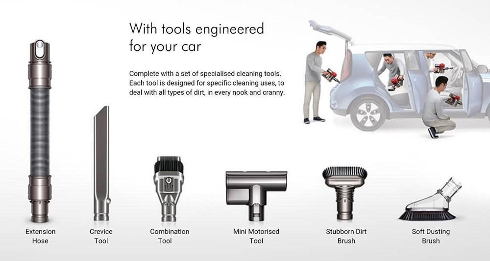 Dyson V6 Car Tools