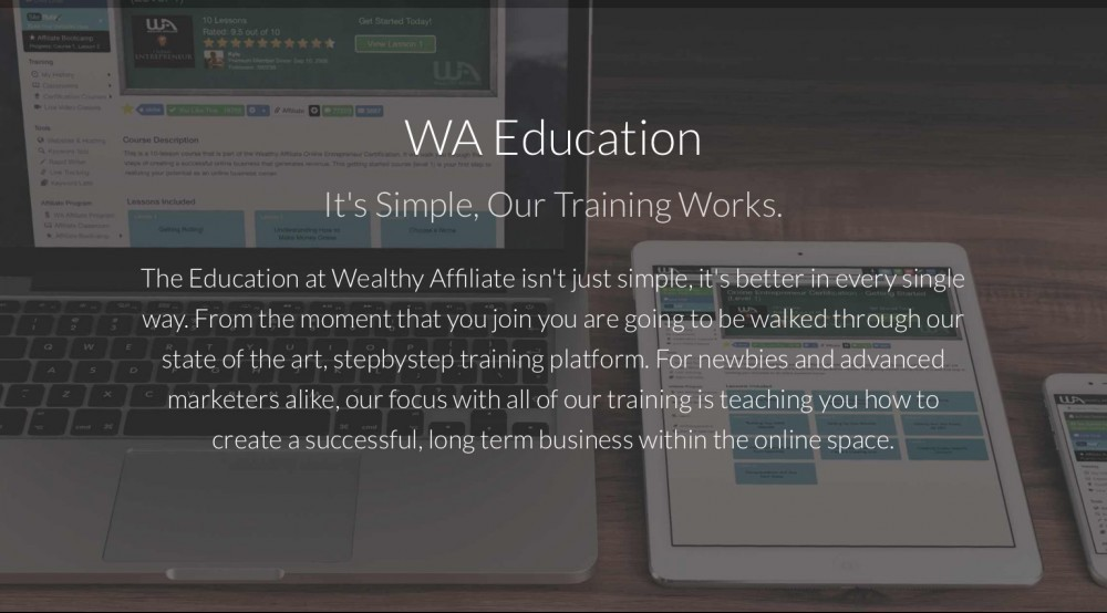 Wealthy Affiliate Training Course