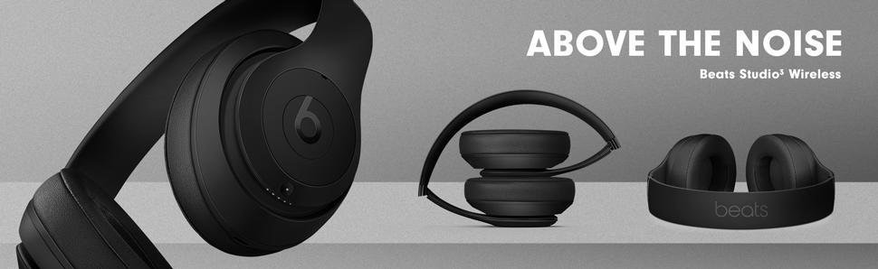 Above the noise Beats Studio3 Wireless