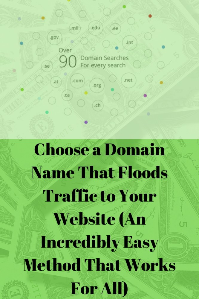 Choose a Domain Name that Floods Traffic to your Website
