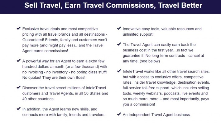 Sell Travel Earn Commission