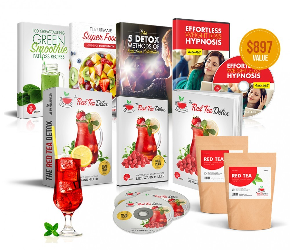 Red Tea Detox Bonus Products