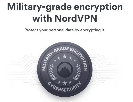 Military grade encryption with NordVPN