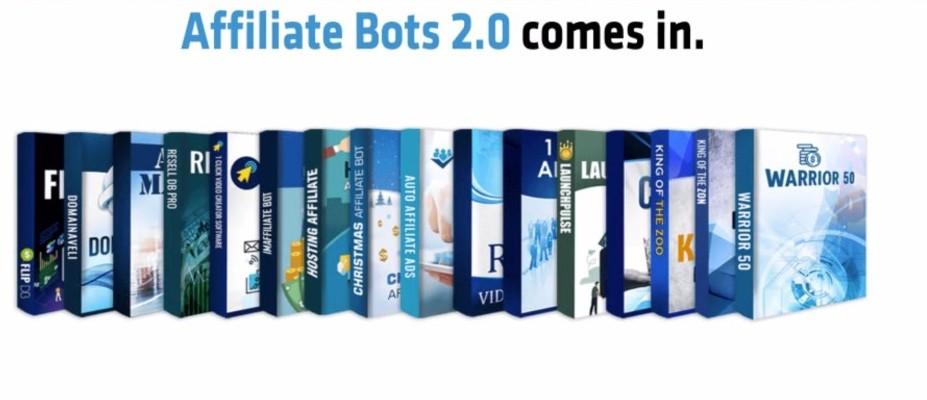 Affiliate Bots 2.0 Product Range