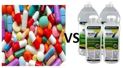 Conventional vs Alkaline water
