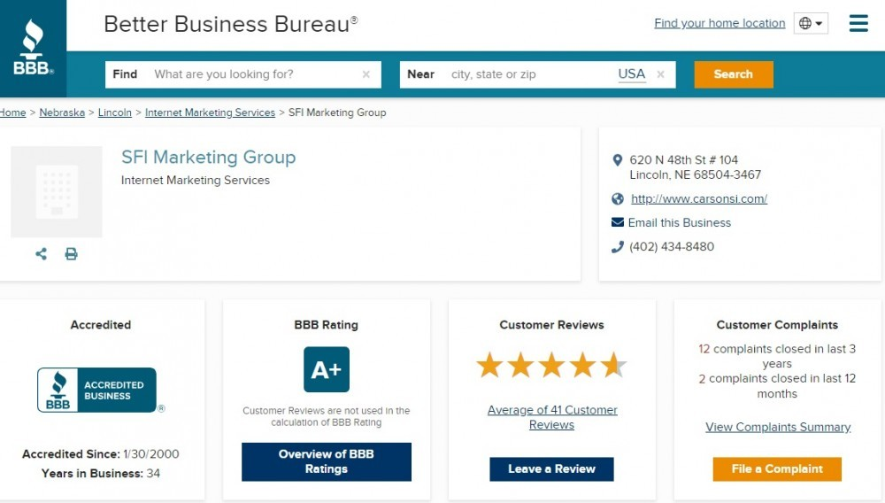 WorkAnyplaceAnytime.com - SFI BBB