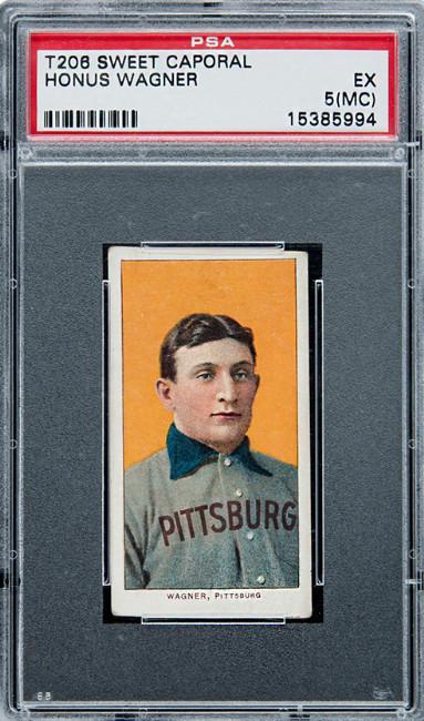 1909-11 T206 Sweet Corporal, Honus Wagner