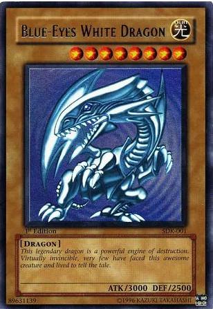 1st Edition Blue-Eyes White Dragon 89631139