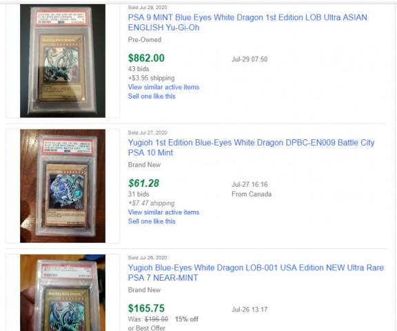 eBays' Sold Listings-1