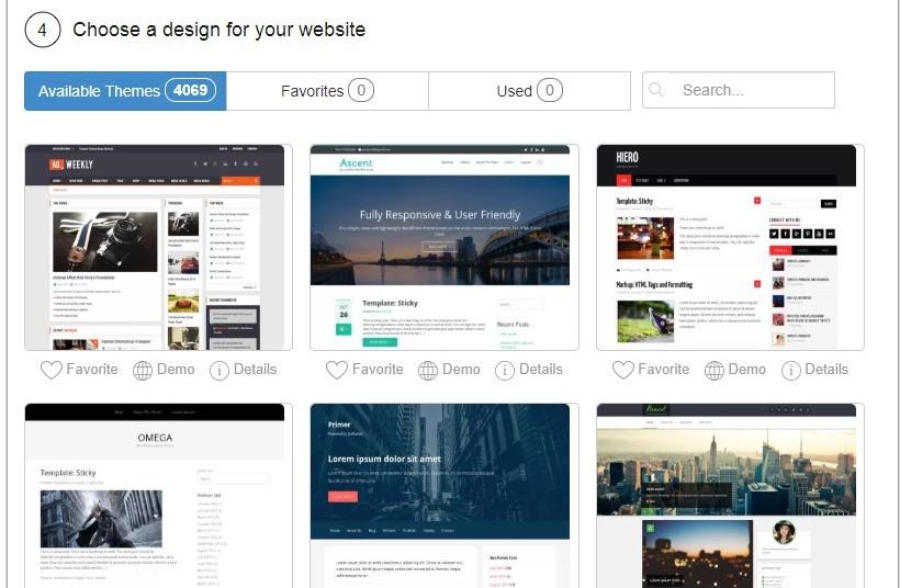 Free WordPress Themes Offered