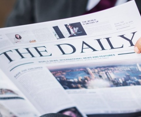 picture of daily newspaper