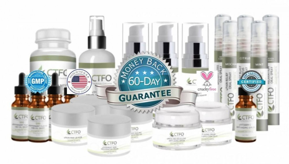 cbd products by ctfo