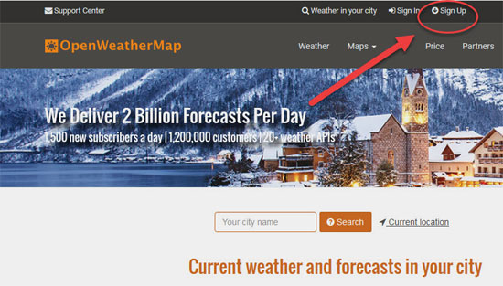 WHY & HOW to display a weather forecast on your Wordpress website