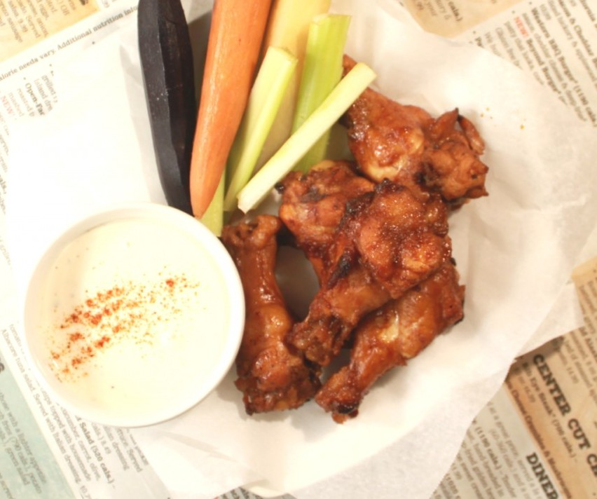oven fried chicken wings adobo