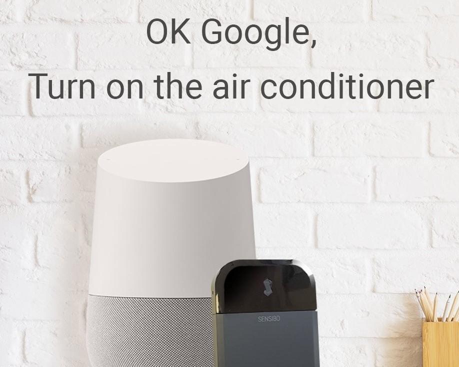 Sensibo with Google Home
