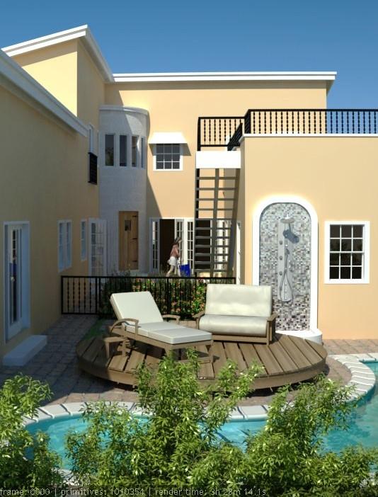 topaz courtyard