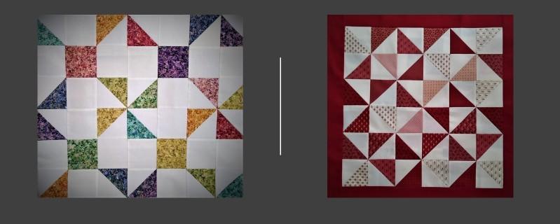 Pinwheel Quilt Tops