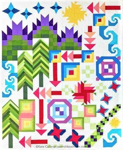 Kate Colleran Adventure Quilt