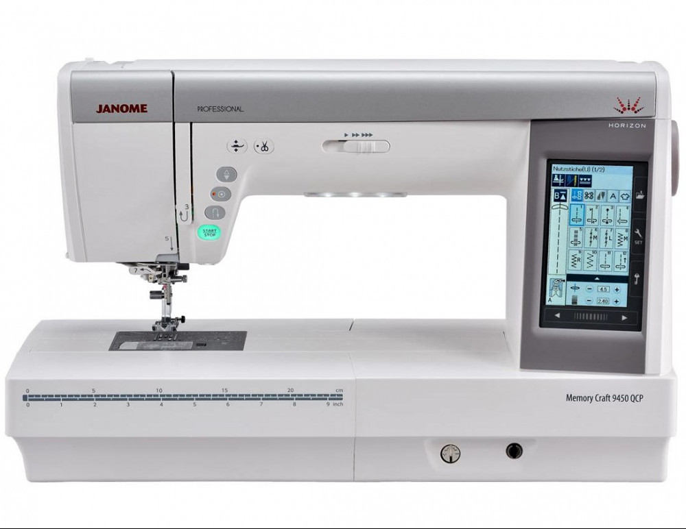 Janome Memory Craft 9450 QCP Professional Sewing Machine