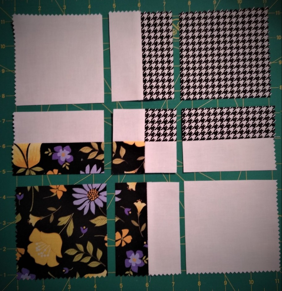 Disappearing Four Patch Quilt Block