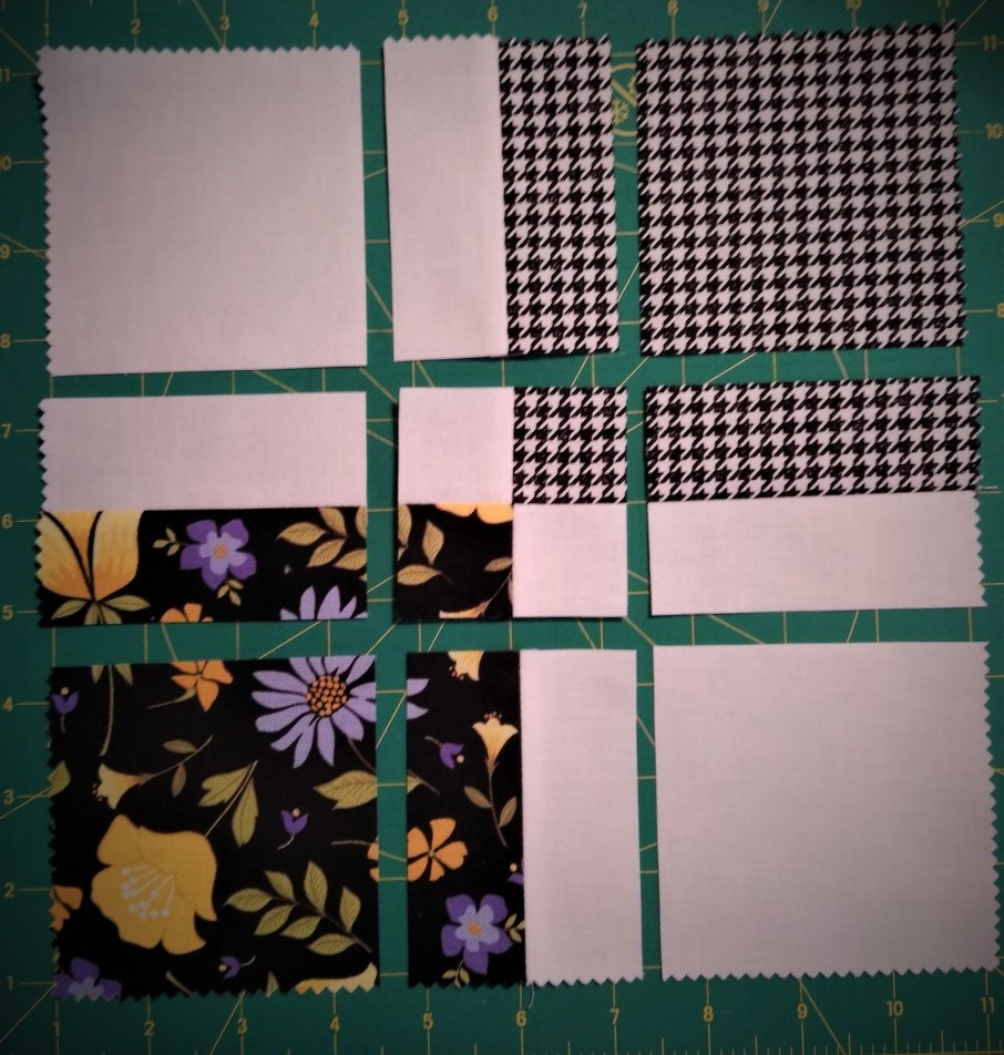 Cutting the Disappearing Four Patch