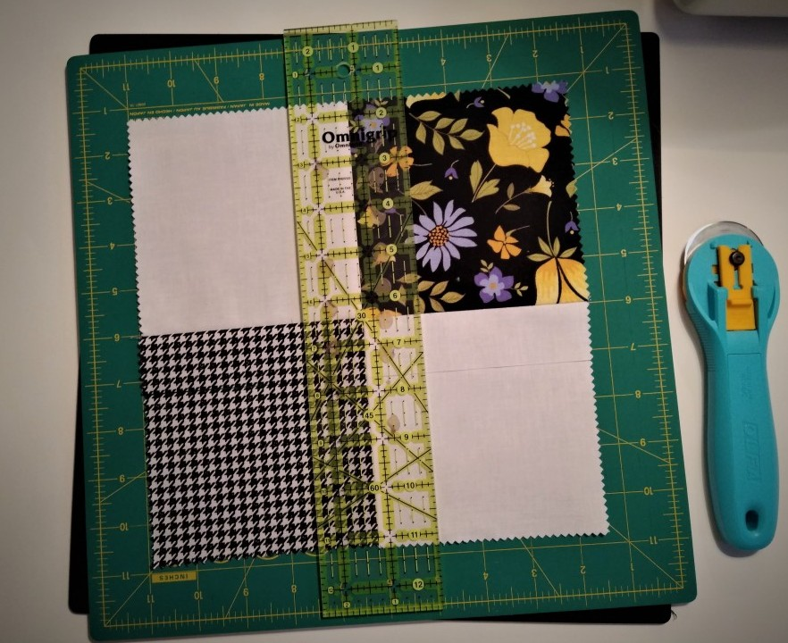 Cutting the Disappearing Four Patch Block
