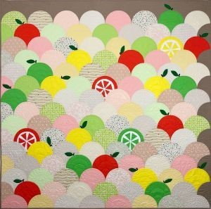 Fruit Stand Quilt by Trisch Price