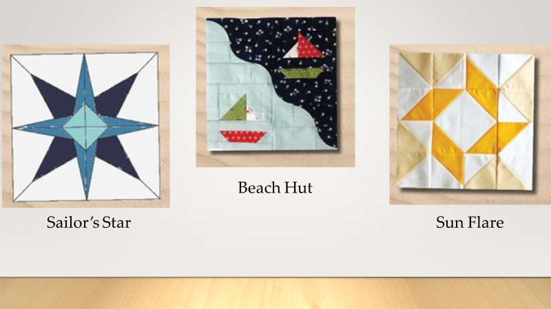 Moda At the Seashore Quilt Blocks