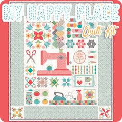 My Happy Place Sew Along quilt kit by Lori Holt of Bee in My Bonnet