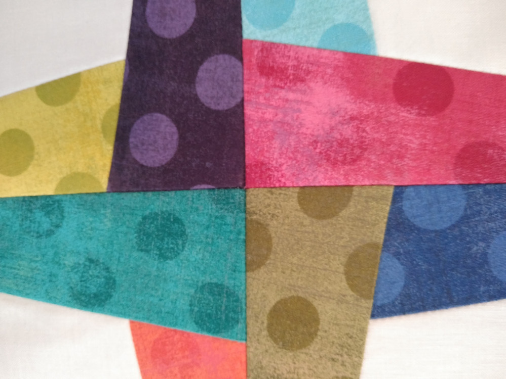 Grunge Collection fabric strips by BasicGrey