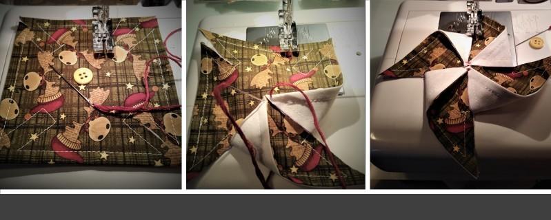 Folding Fabric Squares