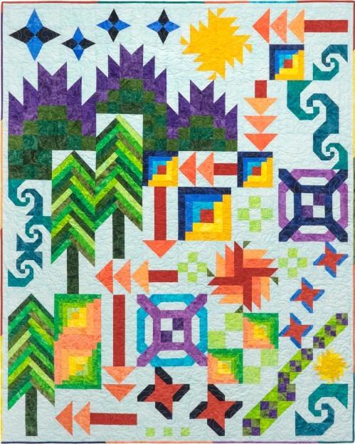 Tamarinis Batik Adventure Quilt
