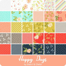 Happy Days fabric line by Sherri & Chelsi