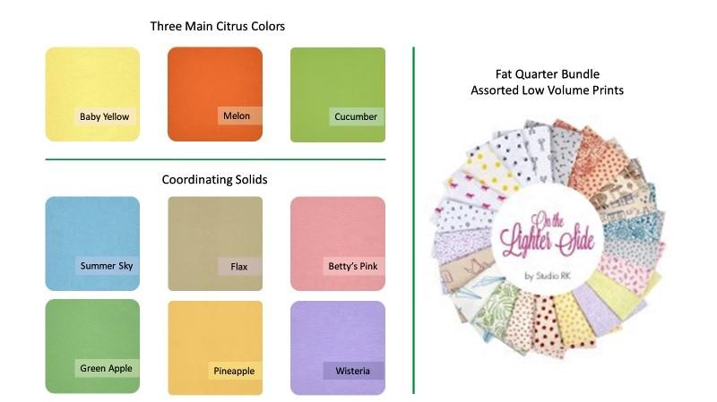 Fruit Stand Quilt Fabrics