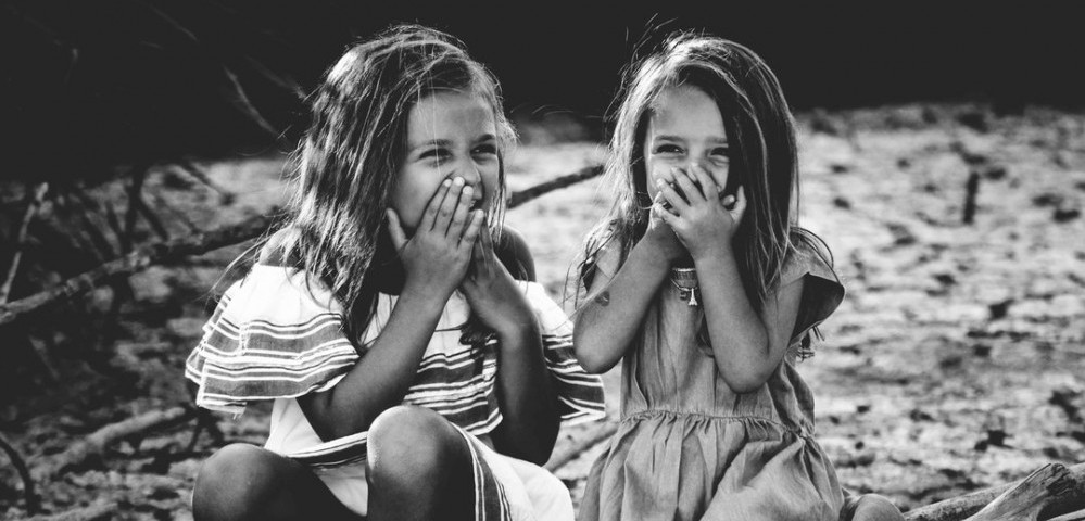 giggling girls