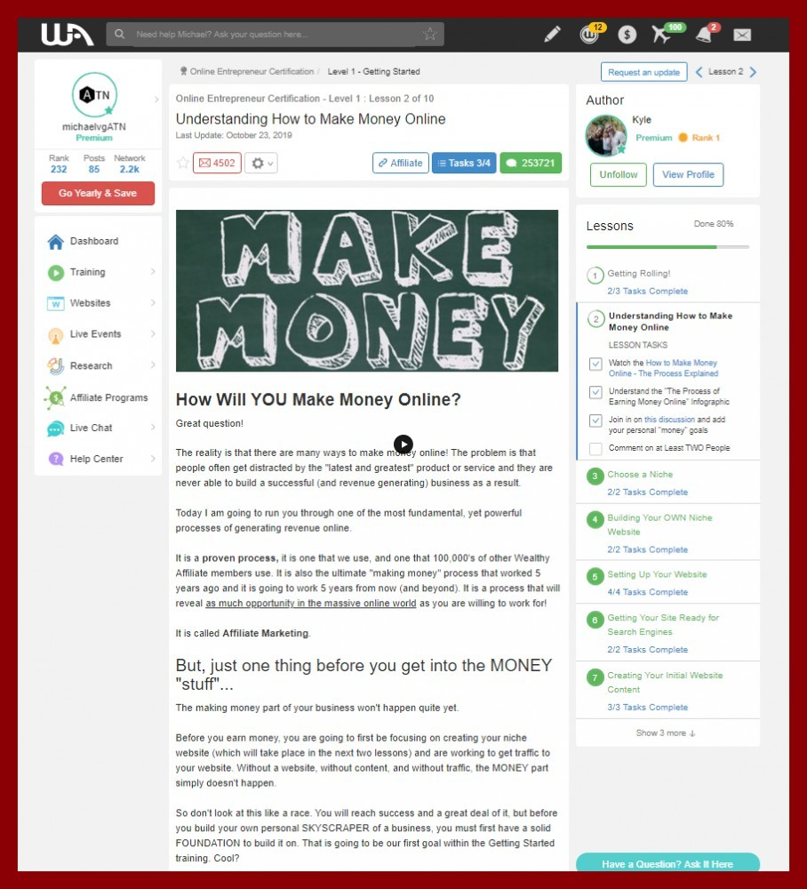 How to start your own affiliate blog and earn money