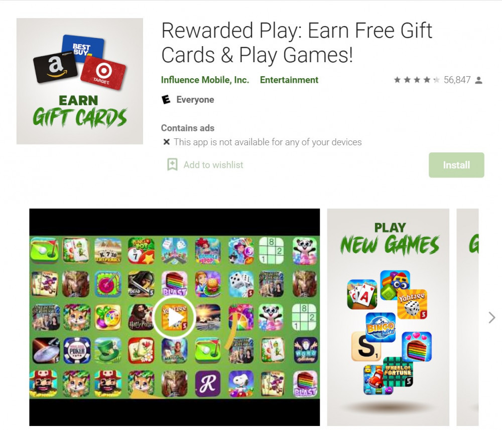 Rewarded Play App Review: Is it Legit?