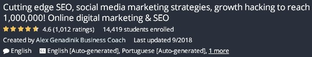 Marketing Strategy To Reach - About The Course