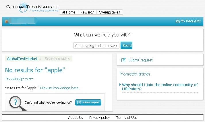 GlobalTestMarket Support
