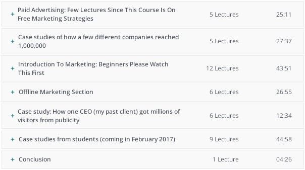 Marketing Strategy To Reach - Curriculum For This Course