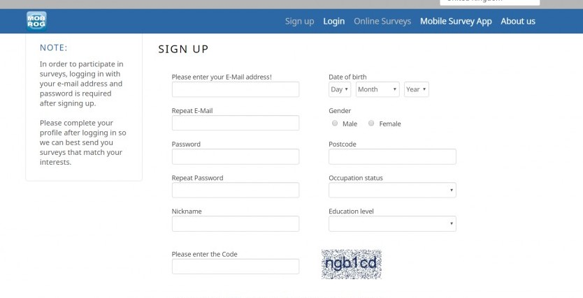 mobrog sign up